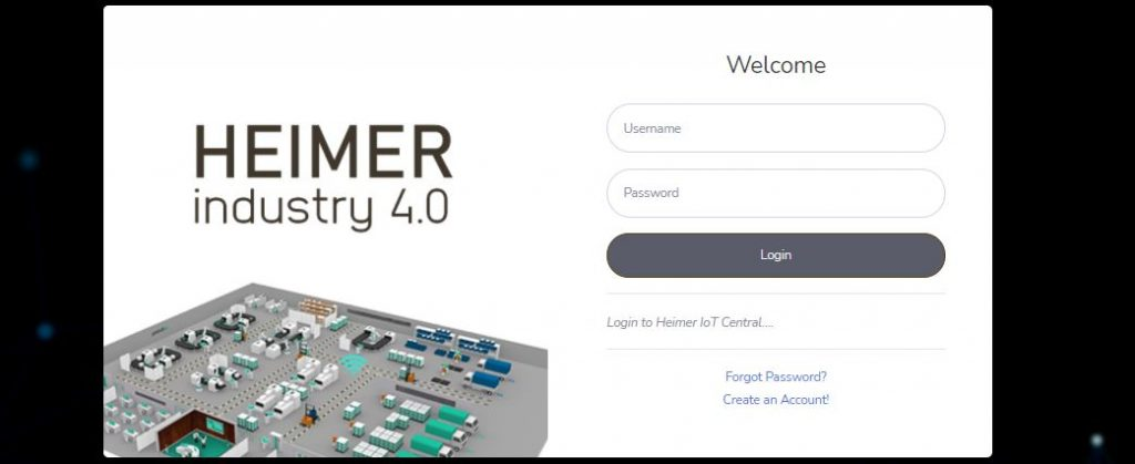 HEIMER Machine monitoring portal